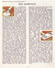 König-Bilderrezept-Kochbuch 4: Der Mürbteig