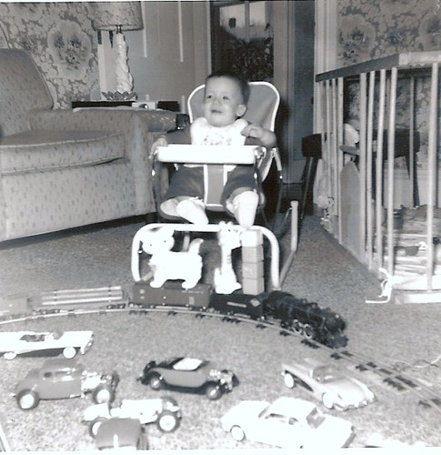 A boy and his toys 1963