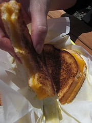 grilled cheese food cart portland