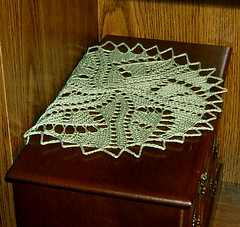 Graphica Doily - Anjeni's Dresser Top