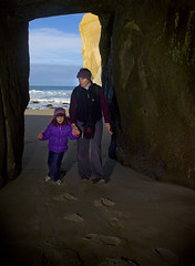Tunnel Beach Cave