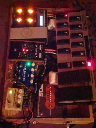 Chris Boerner's pedals