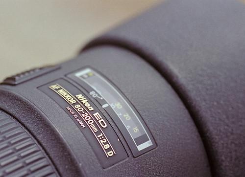 Ai AF Zoom Nikkor ED 80-200mm F2.8D