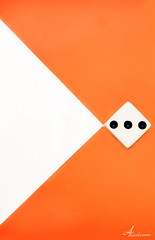 >  (ANOODONNA) Tags: orange white 3 dice abstract canon background l usm f28 canonef2470mmf28lusm ef 2470mm 50d canon50d alrasheed alanood    anoodonna  alanoodalrasheed