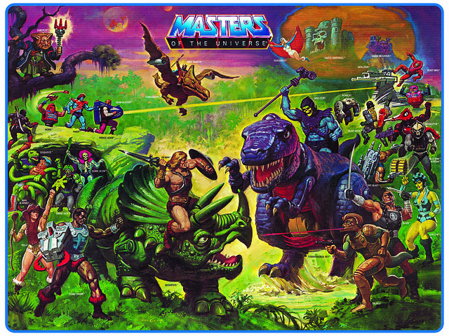Masters Of The Universe - 4 (painting by William George)