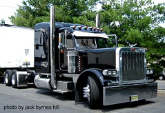Black Beauty (jack byrnes hill) Tags: dumptruck semi mack peterbilt kenworth tractortrailer heavyhauler worldtruck