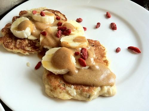 5874751092 e8d1267c00 Gluten Free Banana Muesli Pancakes