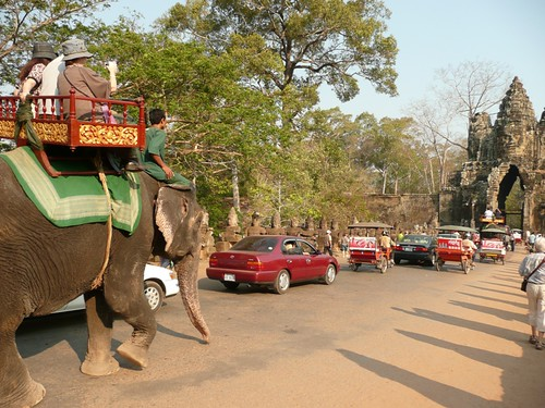 Angkor Wat Traffic