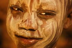 Karo Kid (Nomadic f-stops) Tags: africa bodypaint omovalley ethiopia karo karochild karoboy karokid karoportrait