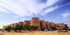 derwar fort (manitoon) Tags: pakistan sand fort punjab hdr cholistan supershot superbmasterpiece diamondclassphotographer goldstaraward