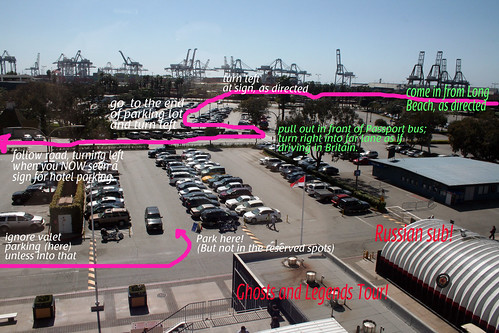 How to Park at the Queen Mary (Hotel Guest Edition)