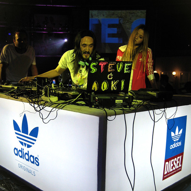 Steve & Devon @adidas celebrate originality party by paopaoo