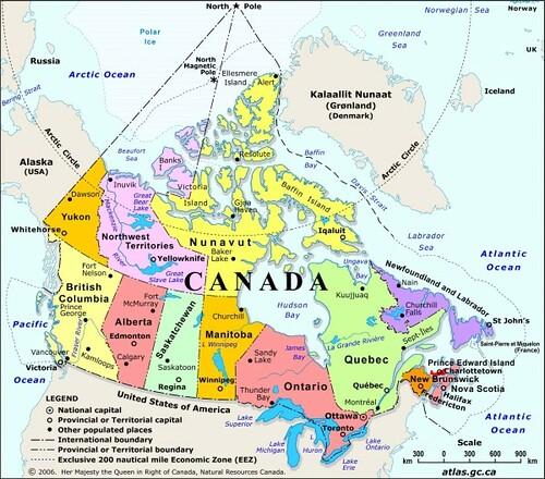 Map Of Canada Yellowknife.Map Of Canada Showing Yellowknife Twitterleesclub
