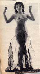 Dance of the 7 veils (Smabs Sputzer) Tags: sexy monochrome dance erotic veil dancer scan belly seven veils