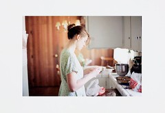Judy's Kitchen (Prairie G) Tags: color film judy pentaxlx copywork