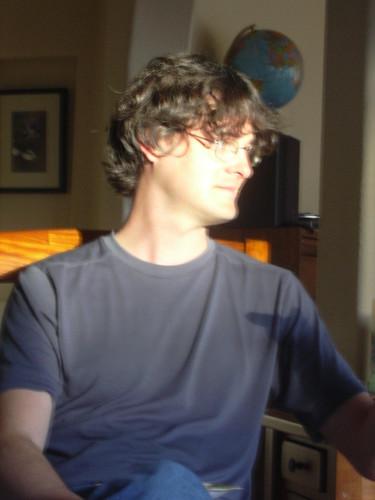 Josh looks goofy