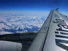 Flying over the Alps (sfPhotocraft) Tags: mountains alps europe flight wing jet alitalia fcolhr