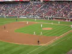 Nationals Baseball Game, sponsored by Intel