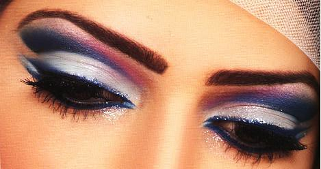 arab make up style by ♥ سكينه ♥.