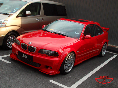 tuned BMW M3 E46 Coupe, fast car, sports coupe, tuned car, tuning model