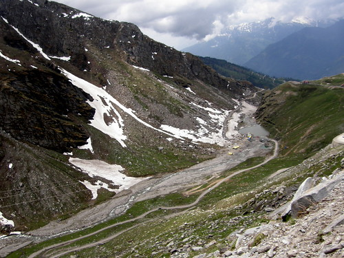 Meandering Roadway