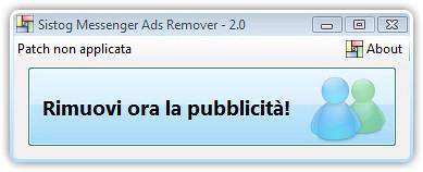 Rimuovere la pubblicità da Windows Live Messenger e MSN