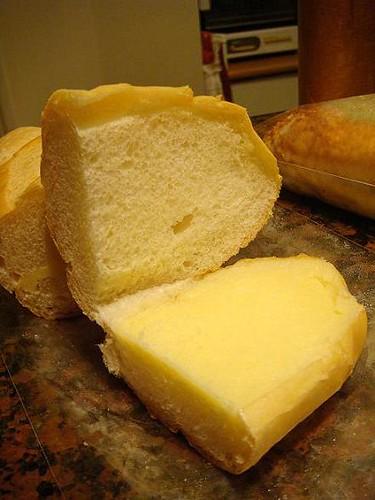 看看裡層厚厚的奶油