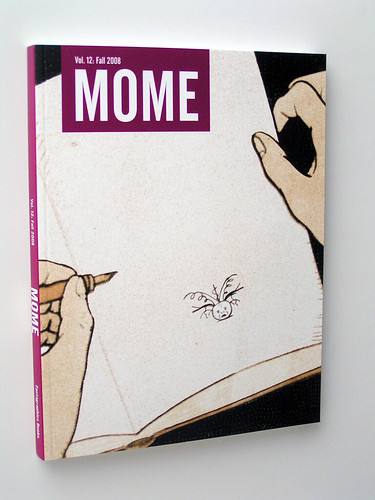Mome Vol. 12 - Fall 2008 - cover by Olivier Schrauwen
