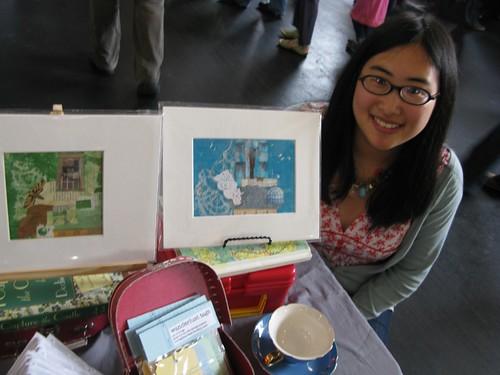 me at my booth at renegade craft fair sf