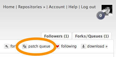 Adding a Patch Queue in Bitbucket
