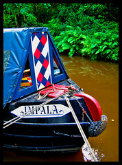 Impala (Jillyreeves) Tags: geotagged canal nikon derbyshire peakdistrict watersedge impala geotag narrowboat waterways d40 buxworth lifetravel