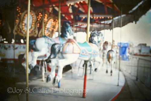 .carousel horse