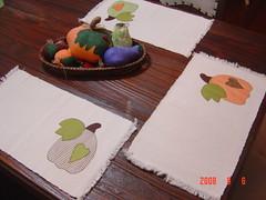 Jogo americano de abóboras (Renata ...) Tags: patchwork abóbora jogoamericano