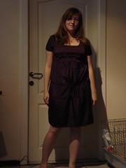 DSC04006 - Neues Kleid von Promod (Kirayuzu) Tags: outfit dress raya selbstportrait wohnzimmer promod kleid selbstauslser