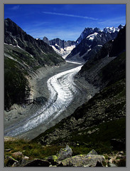 Mer de Glace (Cold Mountain) Tags: mountains alps chamonix merdeglace