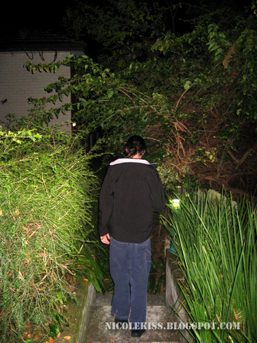 following juan mann down the alley
