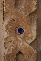 Surrounded (hapal) Tags: blue brown wall canon eos pattern iran creativecommons iranian  islamic  bastam 40d  hapal  hamidnajafi