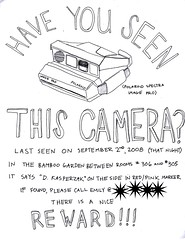 (emily burtner) Tags: polaroid lost baltimore spectra missingcamera