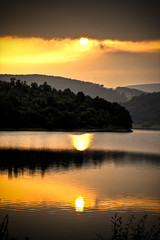 (Hamed Parham) Tags: sunset lake sheffield hamedparham