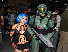 PAX08 (Vic DeLeon) Tags: cosplay cortana vicdeleon pax08