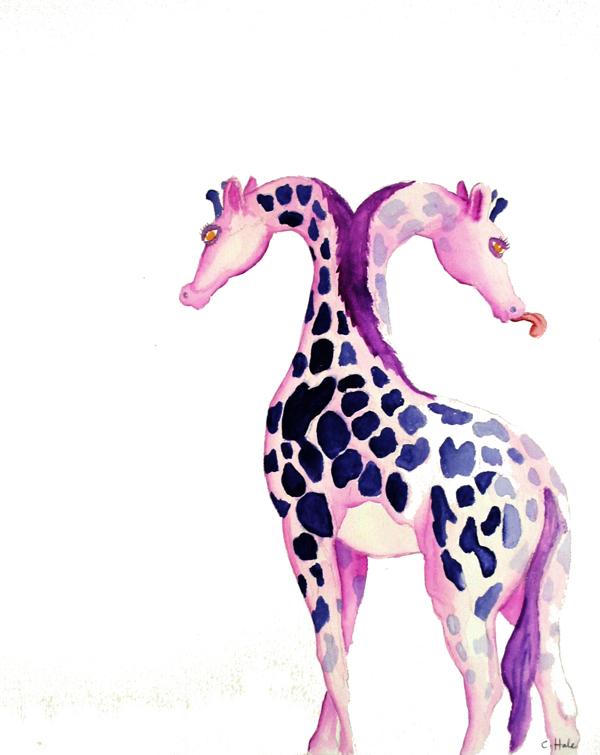 Giraffeffarig