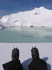Mt Ruapehu Kratersee und ich