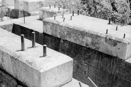 old silver mine foundation