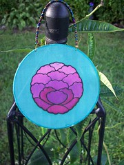 100_1339 (PoisonedApple) Tags: silk suncatcher silkpainting