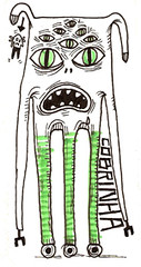 Roller monster (cobrinha) Tags: monster eyes stickers ojos roller patin monstruo cobrinha