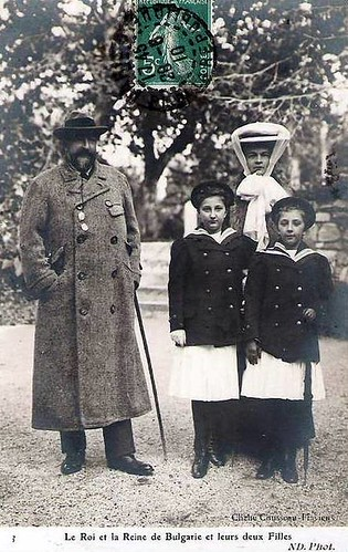 König Ferdinand und Königin Eleonore von Bulgarien, King and Queen of Bulgaria