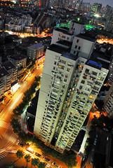 vertigo (matteroffact) Tags: china city light urban skyline night buildings nikon asia skyscrapers shanghai andrew jingan d200 puxi aplusphoto matteroffact rochfort andrewrochfort