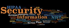 Information Security Wordle: NIST HIPAA Securi...