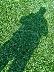 It Follows Me Everywhere (Kevin Borland) Tags: shadow usa green grass unitedstates south maryland southernunitedstates kinderfarmpark severnapark annearundelcounty centralmaryland