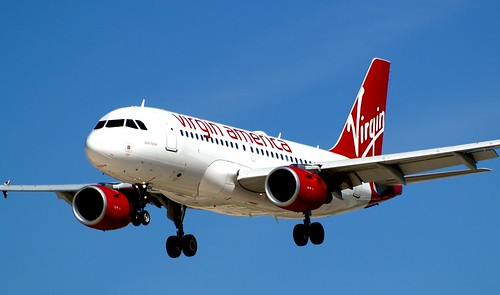 Virgin America Dark Horse Airbus A319-112 N524VA
